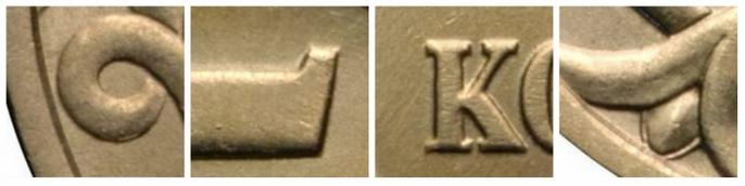 Монета 5 копеек 1998 года (С-ПМД) завиток не примыкает