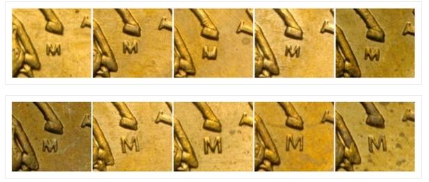 Монета 50 копеек 2005 года (ММД) разновидности