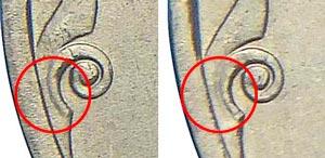 Как отличить редкую разновидность монеты 2 рубля 1999 года (СПМД)